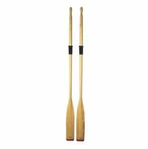 Roeiriem naaldhout met PVC kraag