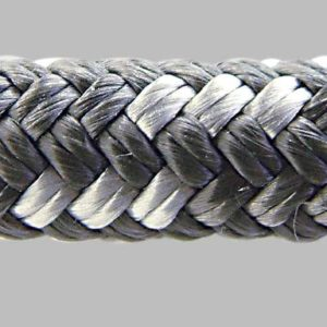 GM112 Flexibele polyester lijn verschillende diameters Antraciet