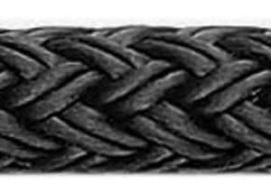 Fenderlijn deluxe per meter zwart