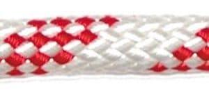 Offshore budget schoot trim lijn diverse diameters wit/rood