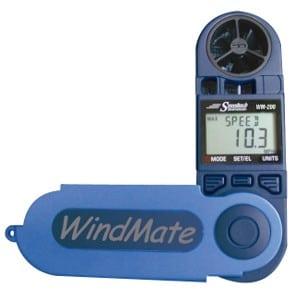 Zakwindmeter of handwindmeter